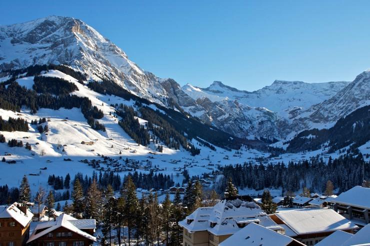 اقامت لوکس در آلپ سوئیس