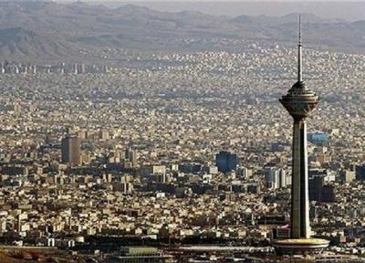 کاهش دمای هوای تهران ، افزایش موقت غلظت ذرات معلق
