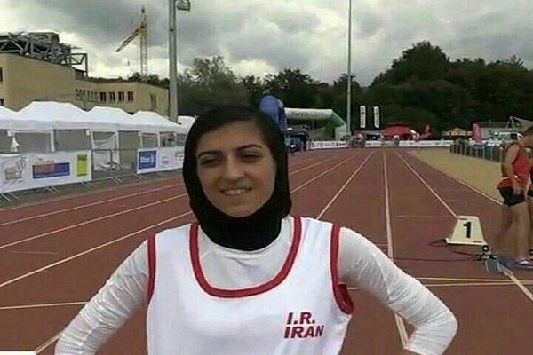 صفرزاده در دوی 200 متر بانوان نقره گرفت