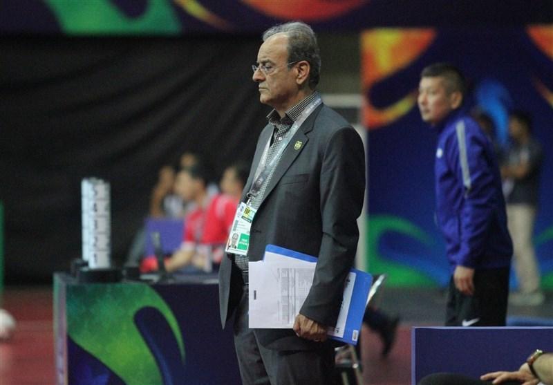 عباس ترابیان: نتوانستیم بازی های دوستانه خوبی برای تیم فوتسال المپیک مهیا کنیم، قرعه بسیار سخت و وحشتناکی داشتیم
