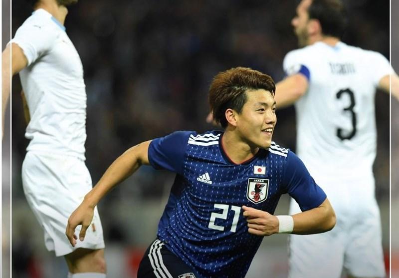 فوتبال دنیا، برتری ژاپن مقابل اروگوئه و تساوی کره جنوبی در دیدارهای دوستانه