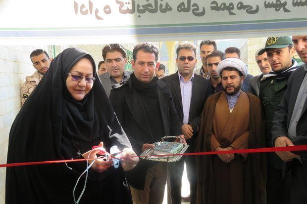 کتابخانه عمومی امام زاده محمد(ع) بخش درب گنبد بازگشایی شد