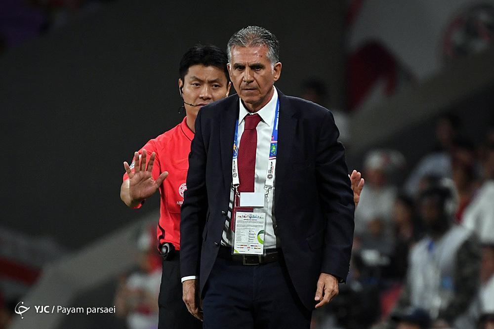 کی روش: استحقاق رسیدن به فینال را داشتیم، مسئولیت کامل اتفاقات داخل زمین را می پذیرم، آینده بسیار خوبی را برای تیم ملی فوتبال ایران می بینم