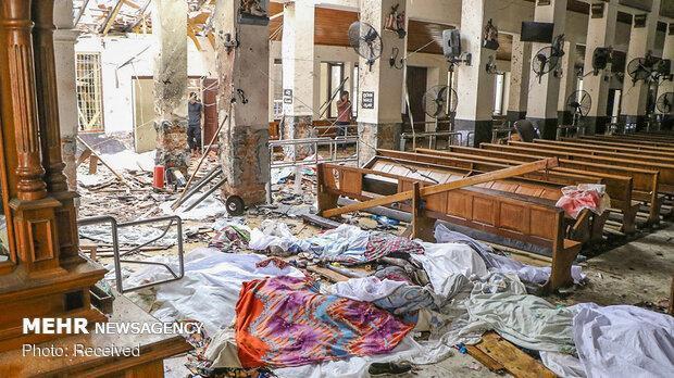 سریلانکا: حملات یکشنبه انتقام حمله کرایست چرچ بود