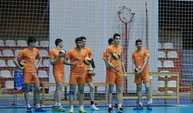 اردونشنیان تیم ملی والیبال نوجوانان معرفی شدند