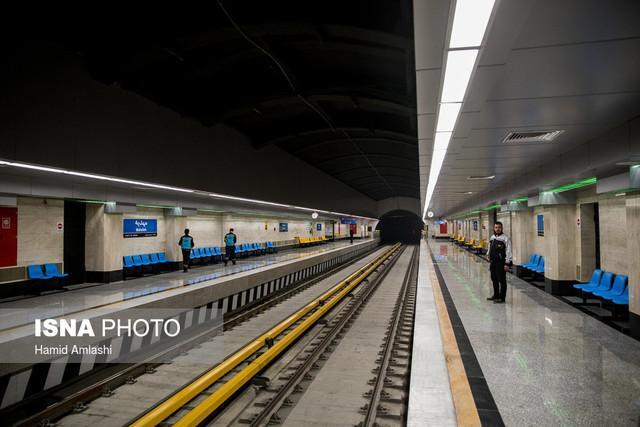 خط 5 مترو اماده جابجایی تماشاگران شهرآورد پایتخت