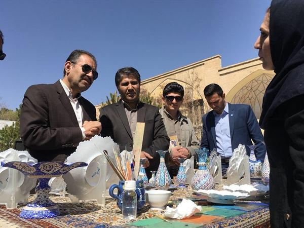 برگزاری روزفرهنگی شهرستان فلاورجان درنوروزگاه اصفهان