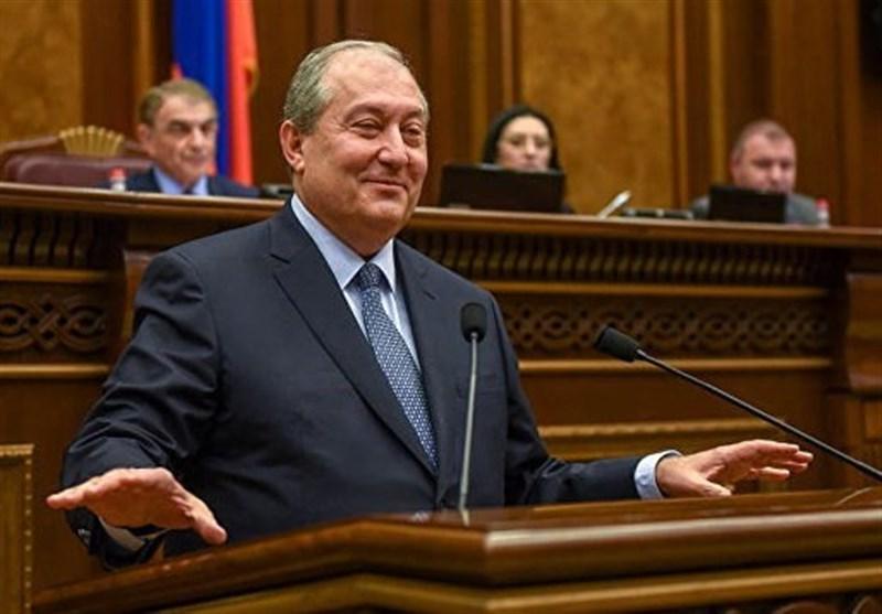 رئیس جمهور ارمنستان در اردن: ارامنه ملتی جهانی هستند