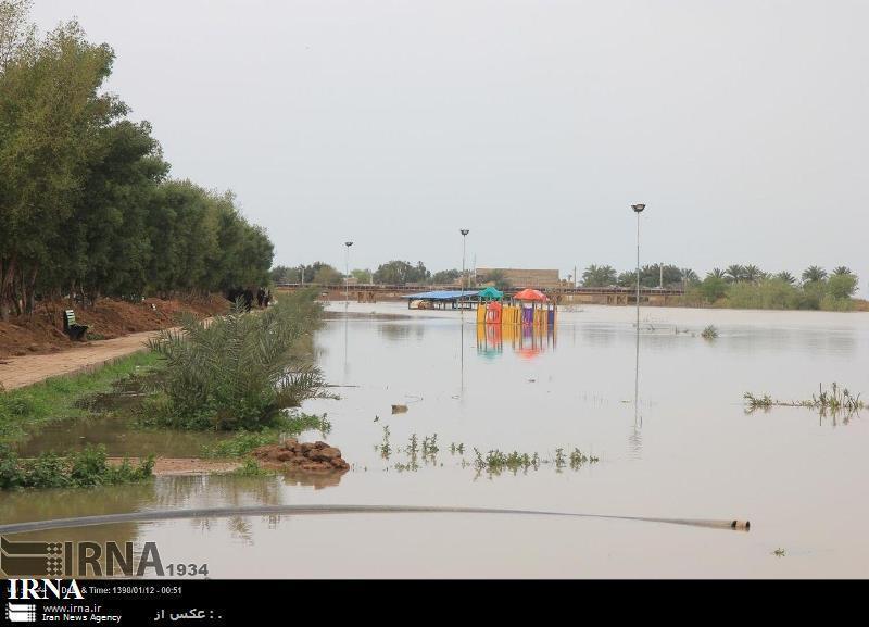 سطح آب رودخانه کرخه در سوسنگرد تا 1.5 متر کاهش یافت