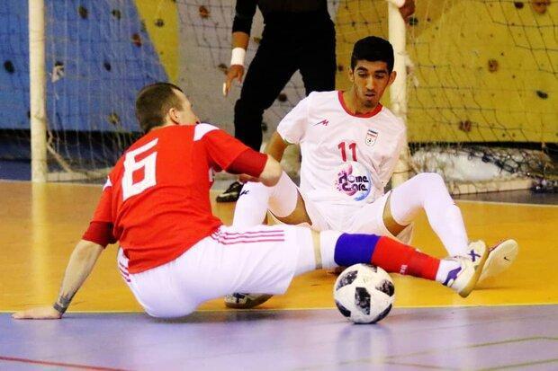 پیروزی تیم فوتسال زیر 20 سال ایران مقابل ژاپن