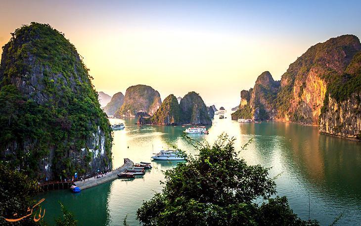 خلیج هالونگ بای، سرزمین اژدهای نشسته در ویتنام