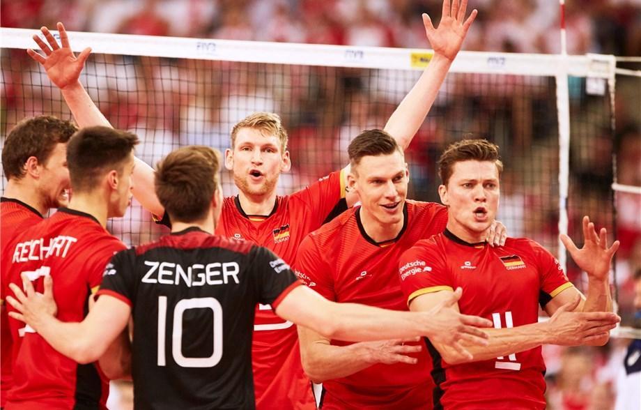 لیگ ملت های والیبال 2019؛ چین 2 - آلمان 3، ژرمن ها در گام اول به زحمت از سد میزبان گذشتند