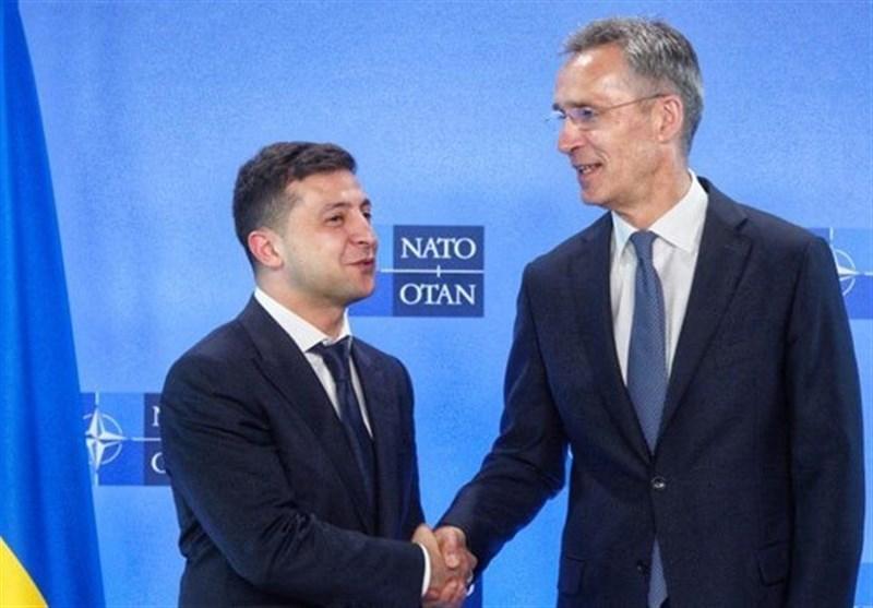 زلنسکی: اولویت سیاست خارجی اوکراین اتحادیه اروپا و ناتو است