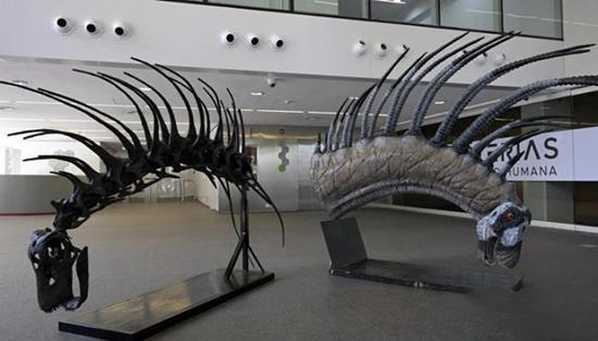 کشف یک دایناسور با سیستم دفاعی عجیب!