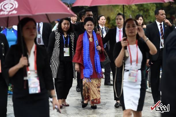 تصاویر : گشت و گذار همسران رهبران اپک در ویتنام