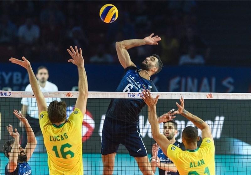 لیگ ملت های والیبال، ایران در صندلی پنجم ایستاد