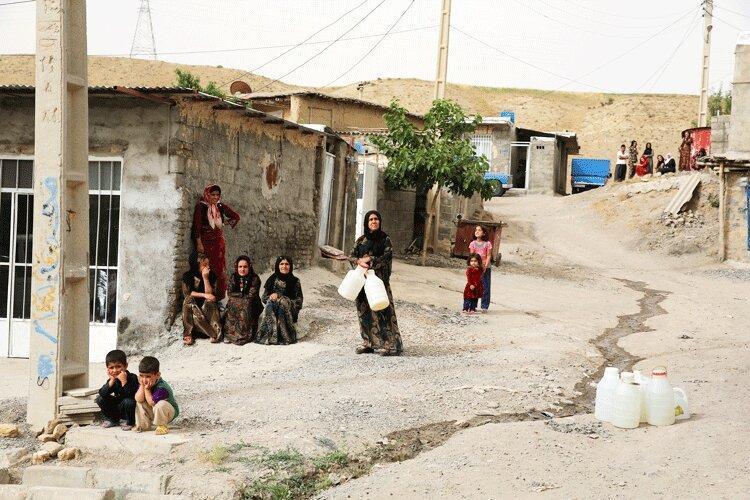 آب در کرمانشاه کم آمد