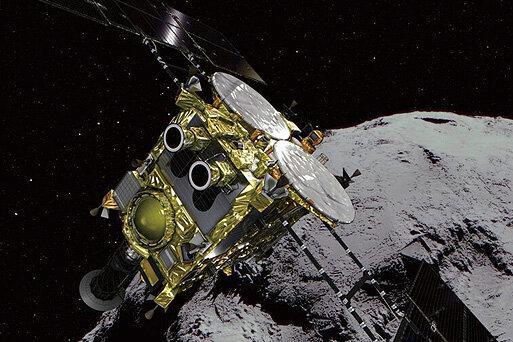 فیلم ، کاوشگر ژاپنی روی سیارک فرود می آید
