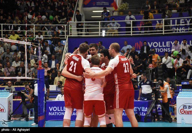 لیگ ملت های والیبال ـ ارومیه ، گلن هوگ: اشتباهات بازیکنانم روسیه را برنده بازی کرد
