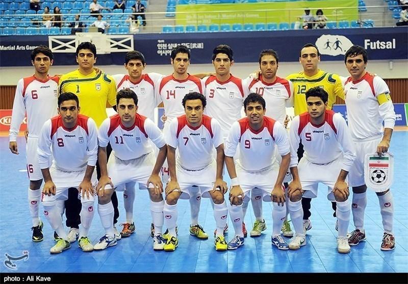 تیم ملی فوتسال ایران با استرالیا، چین و اندونزی همگروه شد