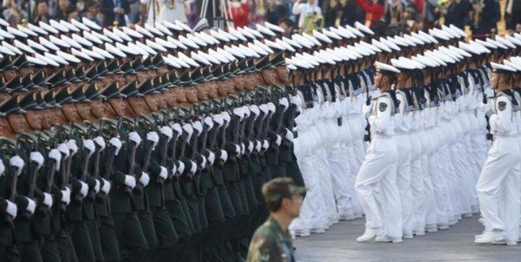 چین در اقدامی بی سابقه عظمت خود را به دنیا نشان داد!، عکس