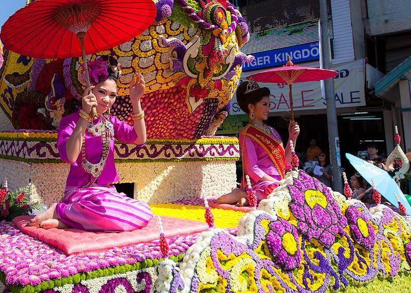 2 تا از بهترین فستیوال های مشهور تایلند