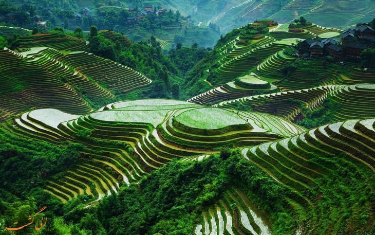 طبیعت و فرهنگ بکر و کم نظیر گوانگشی چین