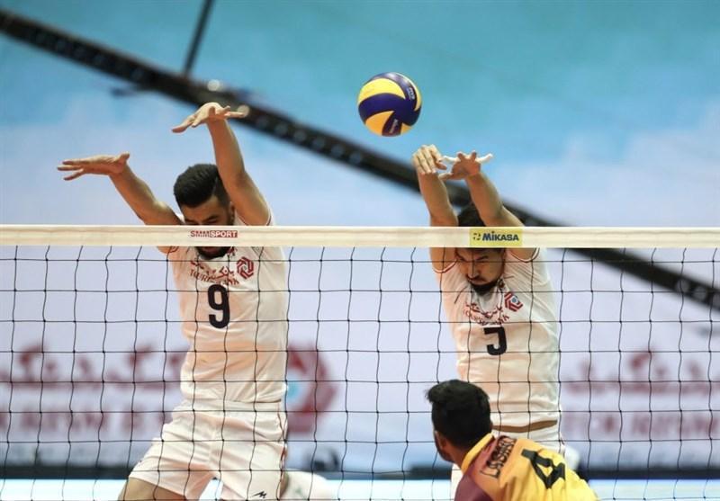 والیبال قهرمانی آسیا، شاگردان لوزانو در تهران تسلیم ایران شدند