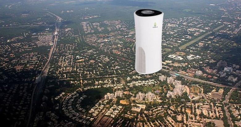 این شرکت نوگام می خواهد آلودگی هوای شهر دهلی را با برج های دودخور تمیز کند