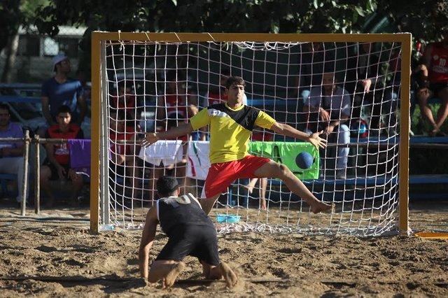 تیم ملی هندبال ساحلی مغلوب عمان شد