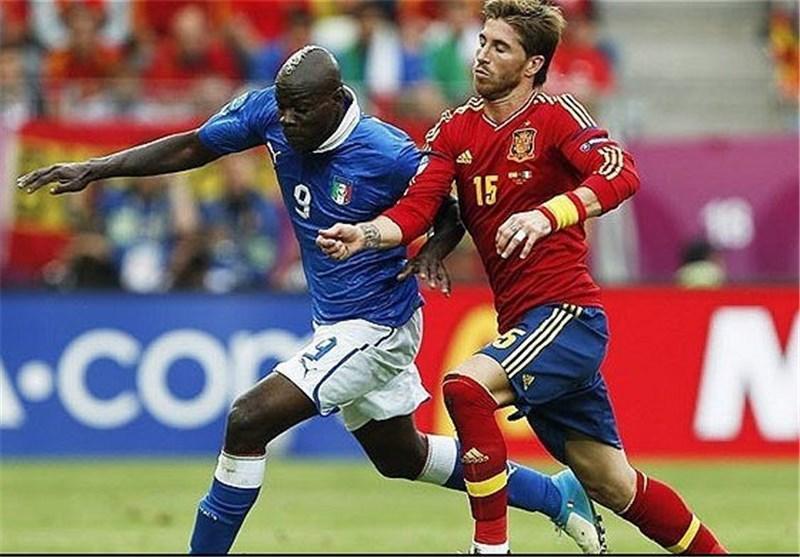 دیدار محبت آمیز قهرمان و نایب قهرمان یورو 2012 در زمان مقرر برگزار می گردد