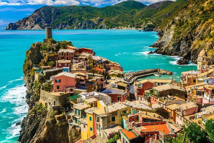 راهنمای سفر به ایتالیا ؛ Cinque Terre