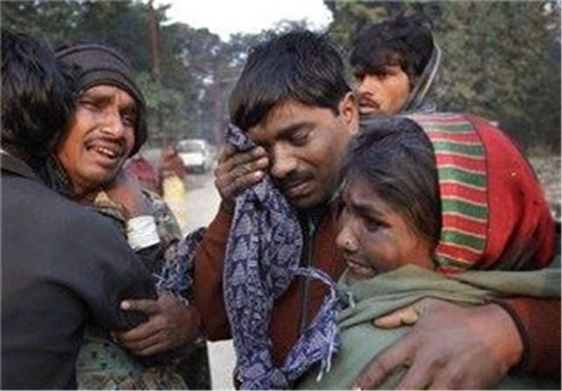 37 کشته در ازدحام مراسم دینی در هند