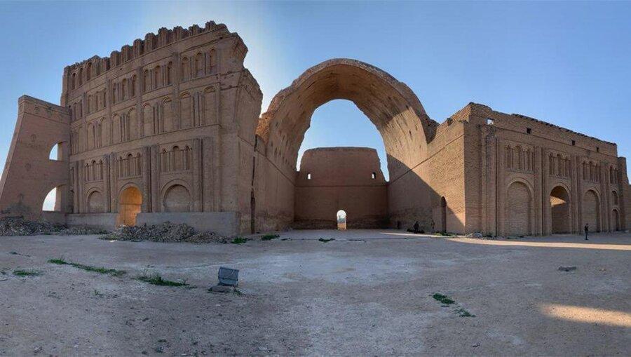 فیلم ، طاق کسری زمین بازی شد ، فراموشی ایوان ساسانی ؛ میراث ارزشمند ایران در عراق