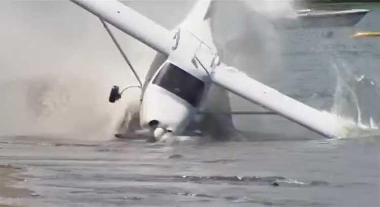 سقوط هواپیما شناور در کانادا سه کشته و چهار مفقودی در پی داشت