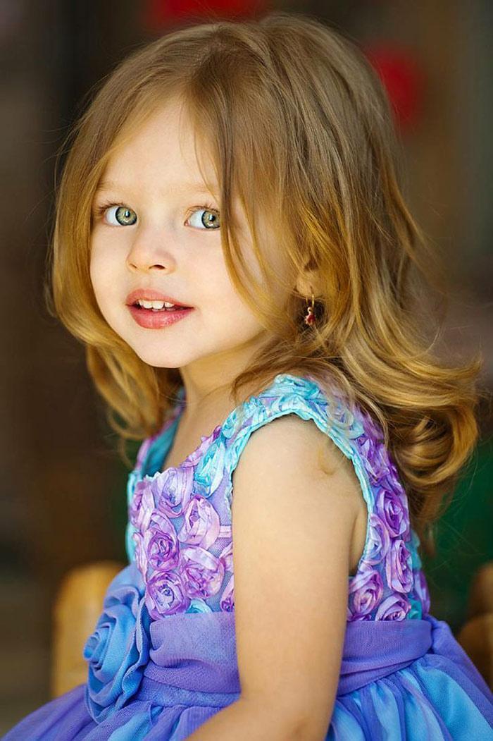 بچه هایی که زیبایی آن ها شهرت جهانی پیدا نموده است