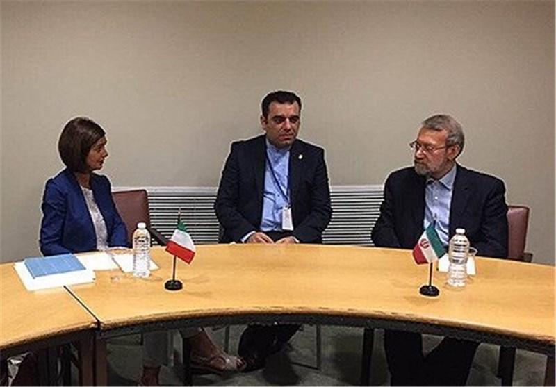 استقبال ایتالیا از توسعه همکاری ها و گسترش روابط مالی با ایران