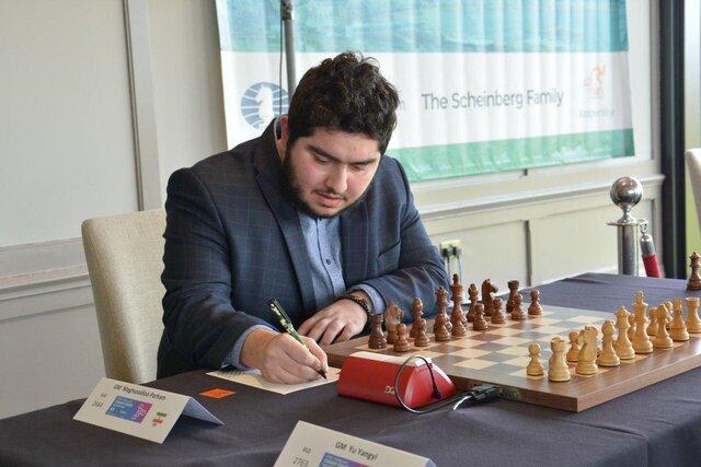 صعود 29 پله ای مقصودلو و 9 پله ای فیروزجا در جدیدترین رده بندی فدراسیون جهانی شطرنج