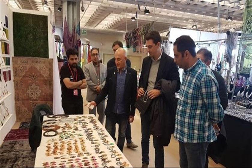 نمایشگاه فلورانس ایتالیا میزبان برگزاری صنایع دستی شهرستان فردوس