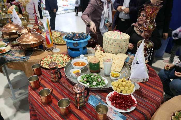 برپایی جشنواره غذای سالم در بوستان شریعتی