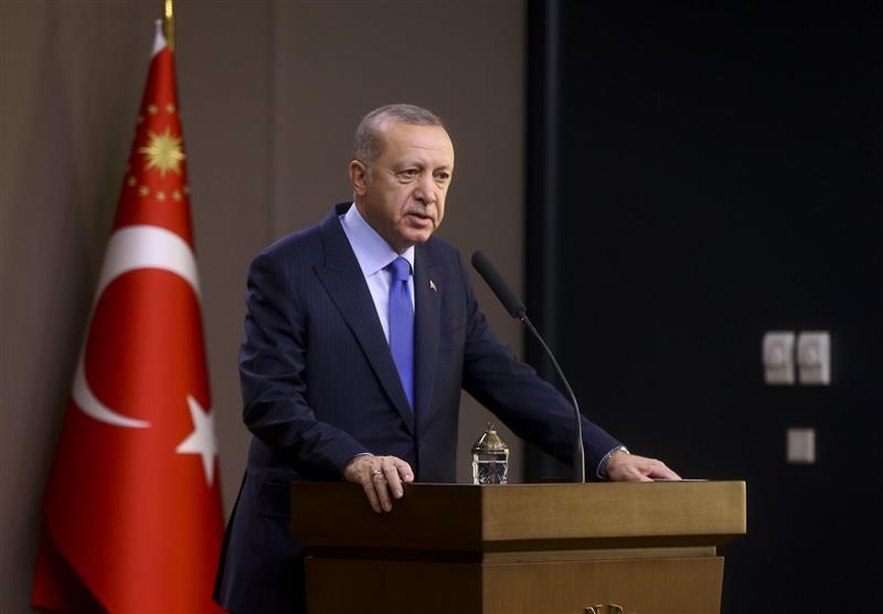 اردوغان: توافقنامه آنکارا -طرابلس اجرایی می گردد، رزمایش دریایی ترکیه در نزدیکی جزیره یونانی
