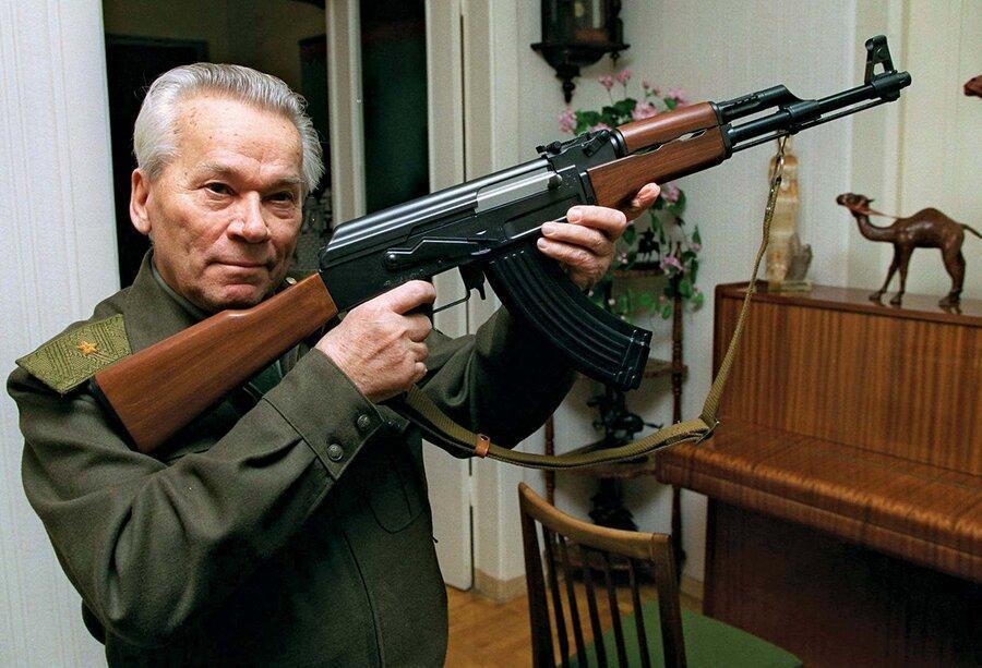 اطلاع نگاشت ، فرایند تحول کلاشنیکوف ازAK-47 تا AK-200