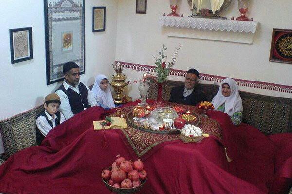 آشنایی با آداب و رسوم شب یلدا در سمنان
