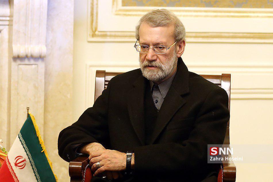 لاریجانی جان باختن سرنشینان سانحه هواپیمای اوکراینی را تسلیت گفت
