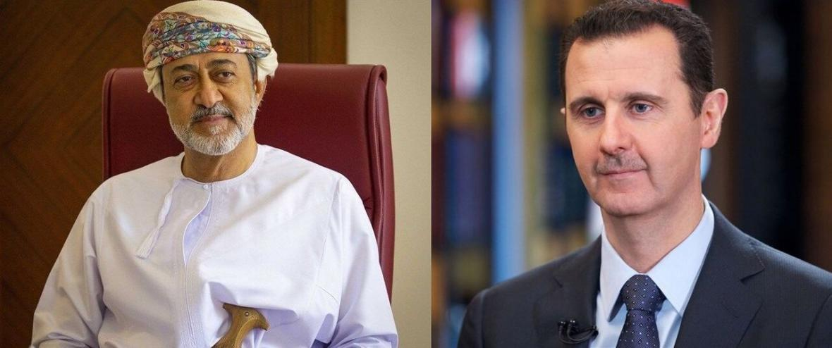 خبرنگاران پیغام سلطان عمان به بشار اسد