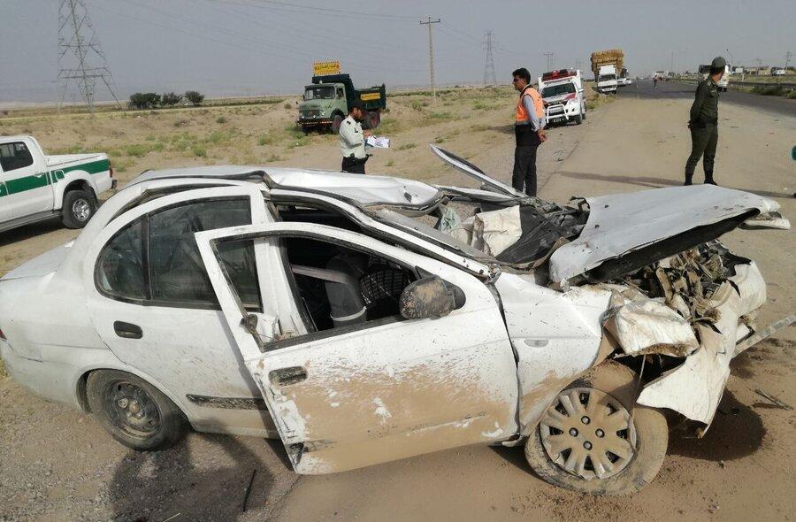 کاهش 55 درصدی تصادفات فوتی برون شهری کردستان