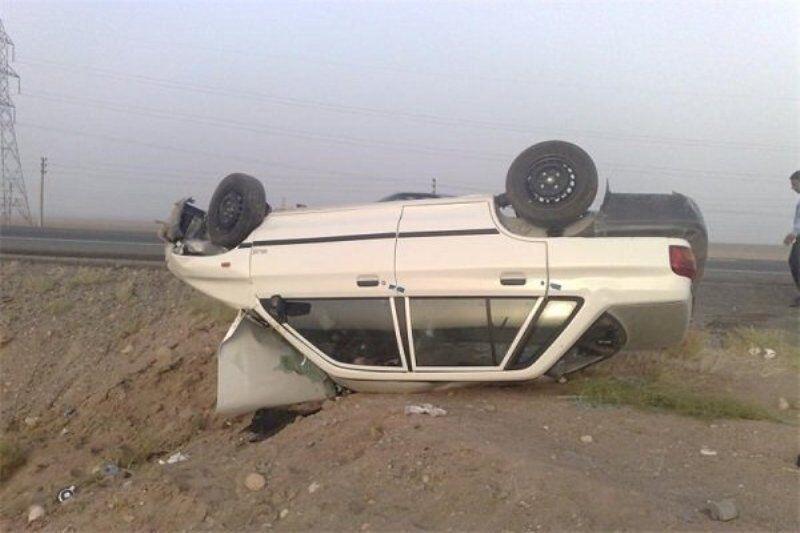 خبرنگاران 2 کشته در حوادث رانندگی کرمانشاه