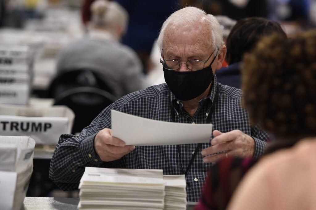 رای های شمارش نشده در ایالت جورجیا کشف شد