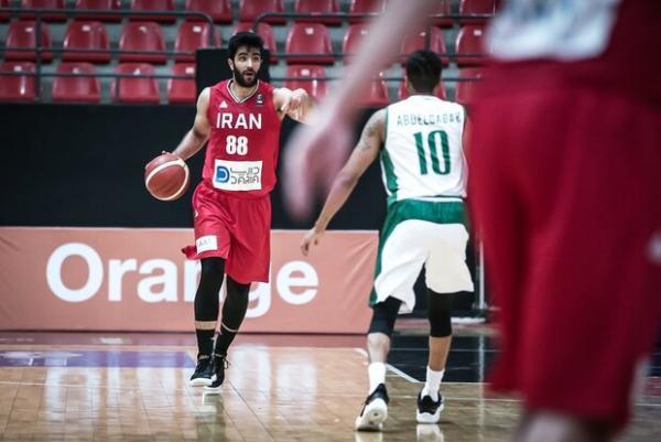 تیم ملی بسکتبال ایران برابر اسپانیا باخت
