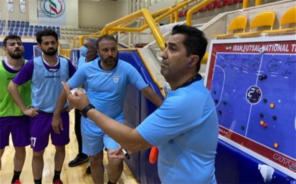 اردونشینان تیم ملی فوتسال معرفی شدند
